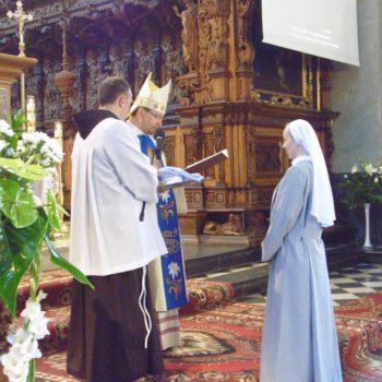 Pierwsza profesja zakonna s. Anny Bucior