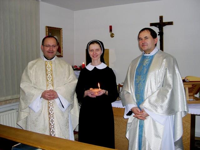 Ceremonia przyjęcia do postulatu Eweliny Gabrielczyk